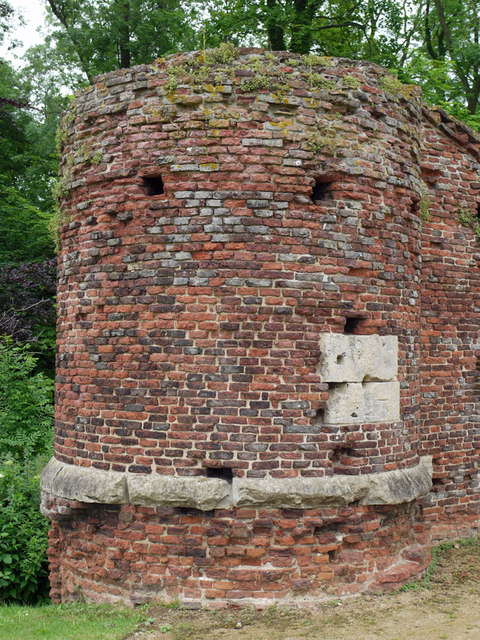 Brick Turret - Thornton Abbey Gatehouse