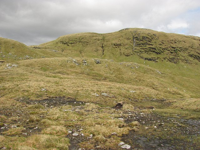 Steep ground, east of Sgiath Chùil