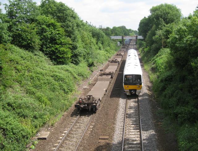 Trains west of Leamington Spa