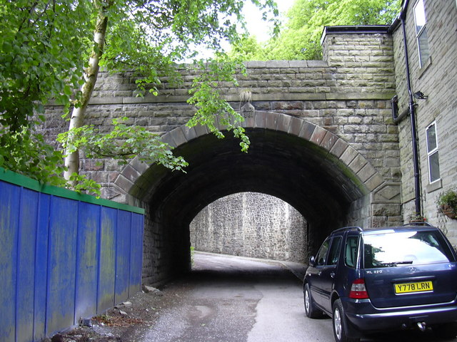 Bridge Carrying Holcombe Road over the lane to Sunnybank AD1881