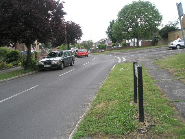 Junction of Gordon Road and Corbett Road