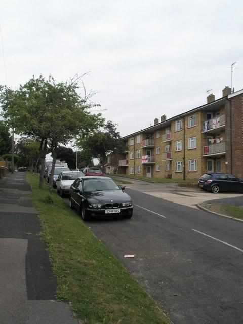 Flats in Corbett Road