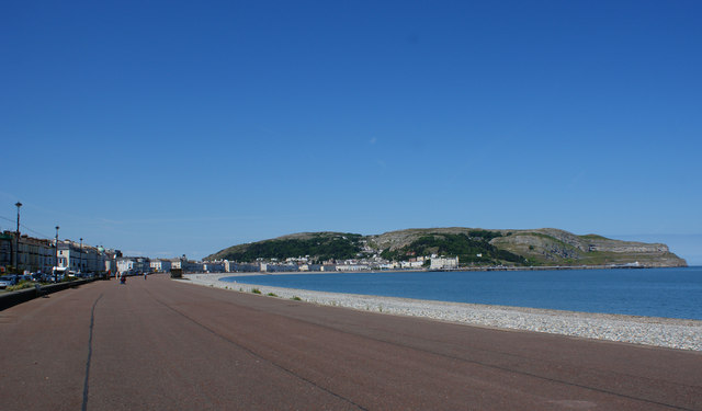 Llandudno front and the Great Orme