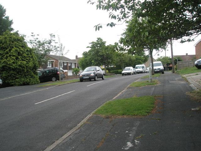 Vehicles in Corbett Road