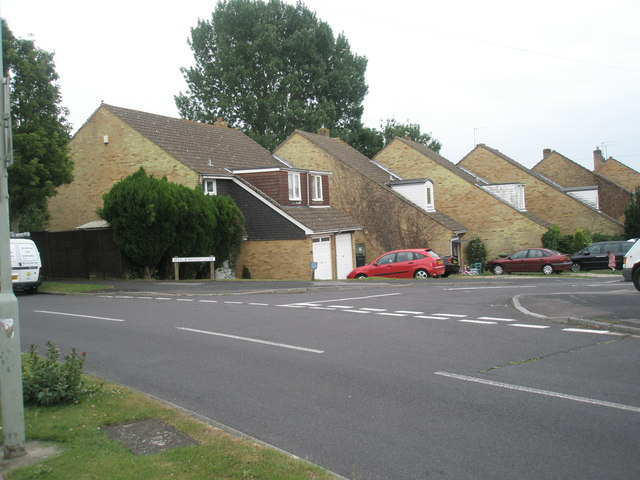 Junction of Corbett Road and Marlborough Close