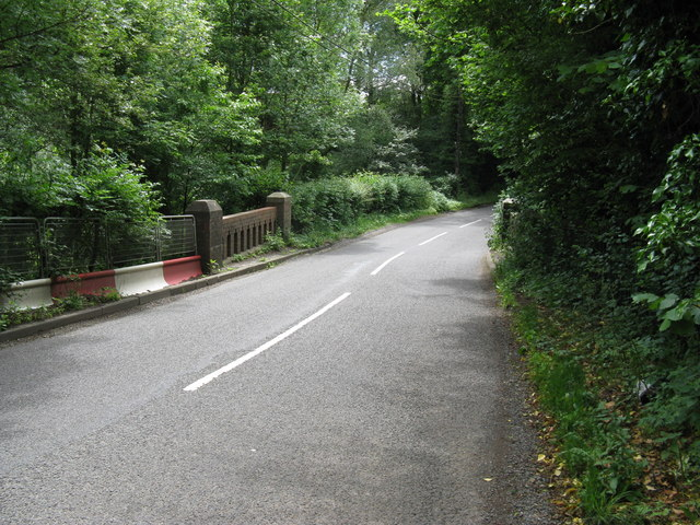 Hazel Bridge carrying Pickhurst Road south from Chiddingfold