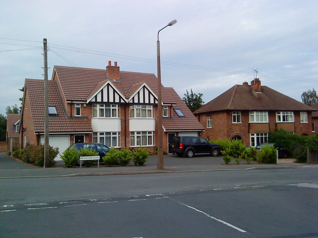 Houses on Bramcote Lane, Chilwell