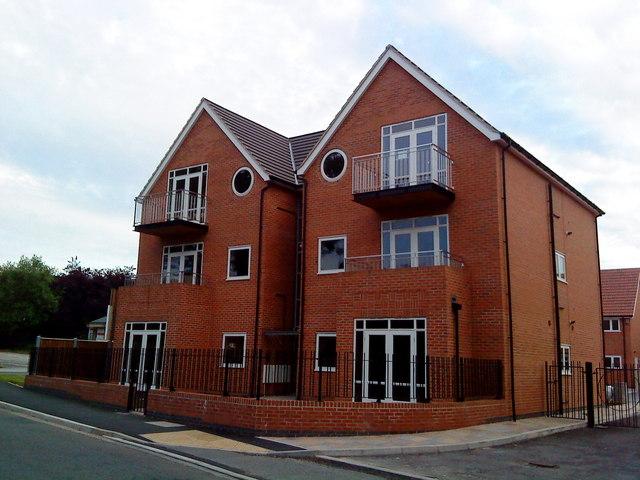 Apartment block on Bramcote Lane, Chilwell