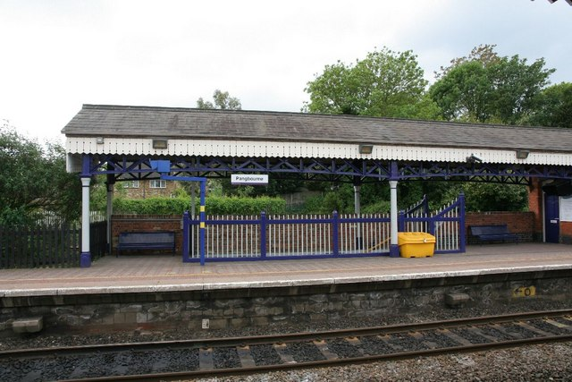 Canopy on platform two