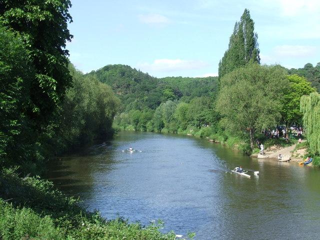 Canoe race, Bridgnorth
