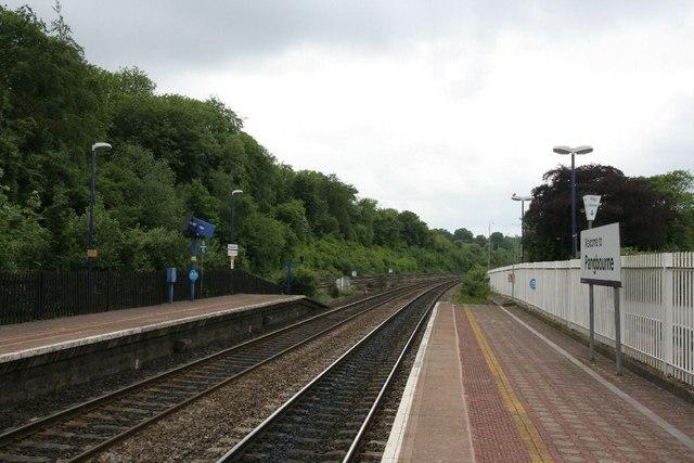 Railway towards Goring