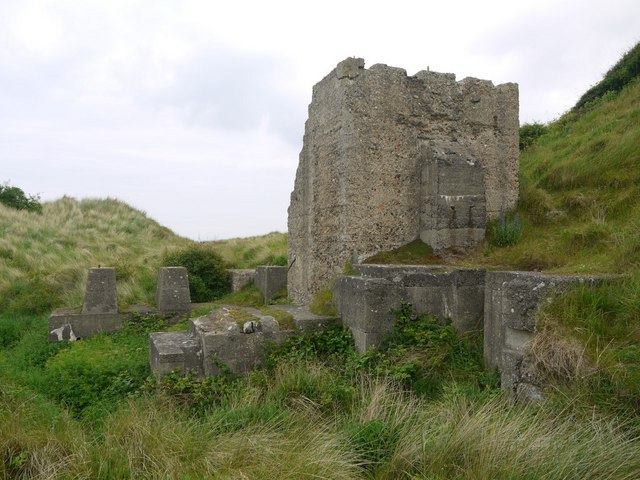 WWII defences, Budle Bay