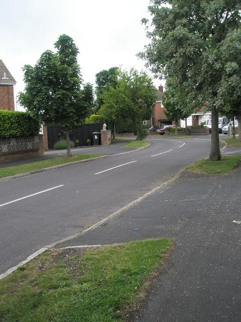 Bend in Corbett Road