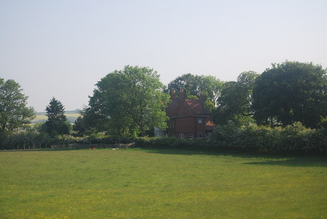 Carr House in the trees, Gristhorpe