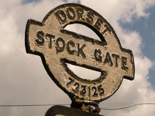 Stock Gaylard: signpost detail