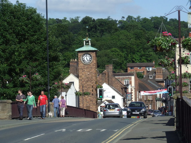 Bridge at Bridgnorth
