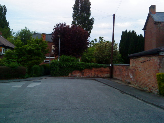 End of Gwenbrook Avenue, Chilwell