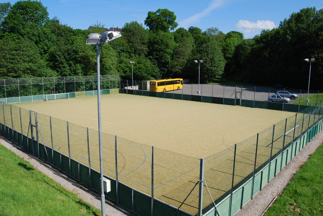 "Artificial ""five a side"" football pitch"