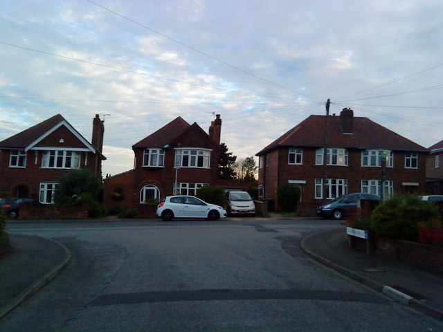 Houses on Gwenbrook Road, Chilwell