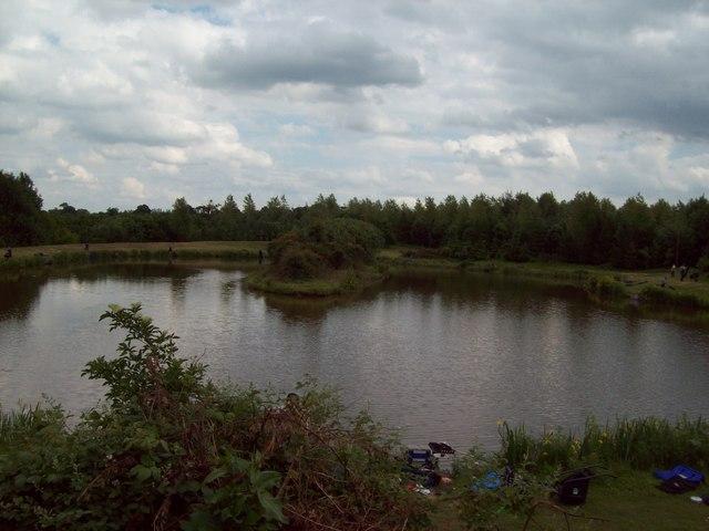 Botany Bay Lake in Beehive Wood