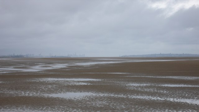 Mersey Gap from Formby Bank