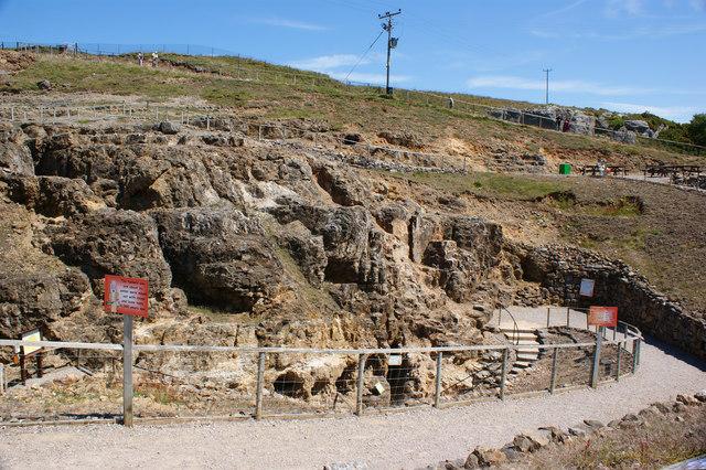 The copper mine