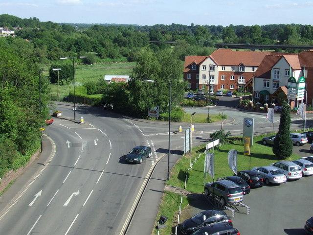 Road junction, Bridgnorth