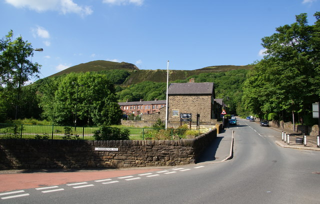 An entrance to Stalybridge Country Park