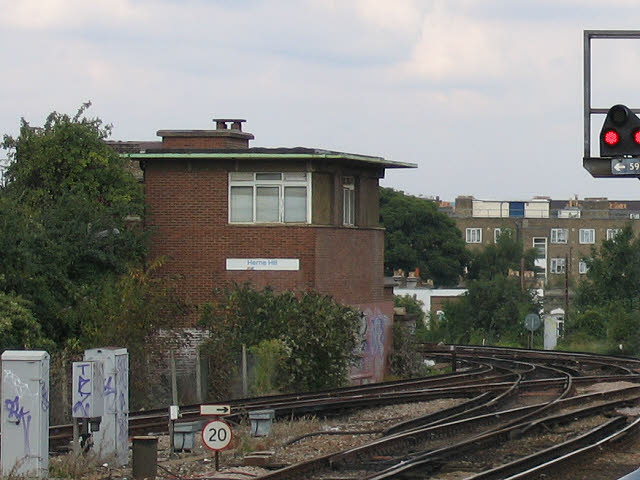 Herne Hill signalbox