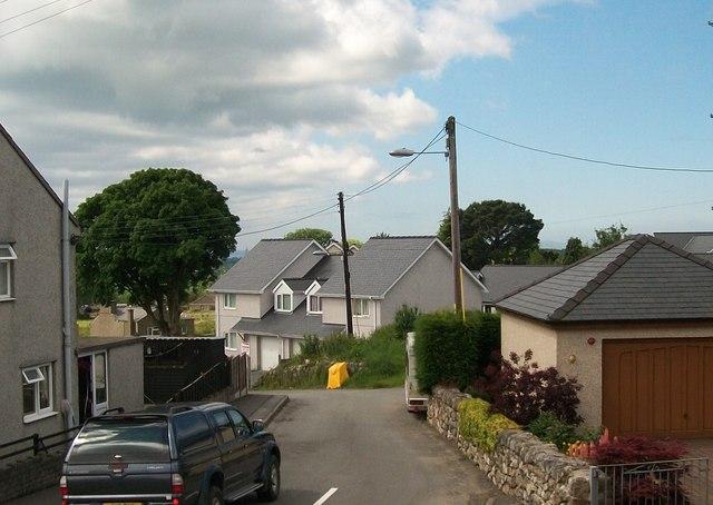 New houses at Garn