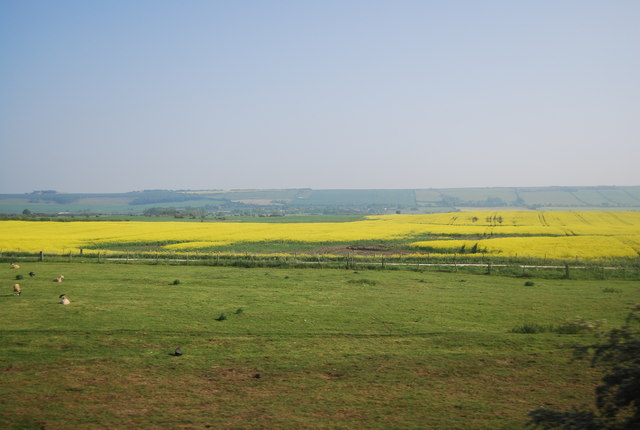 Mixed farm landscape