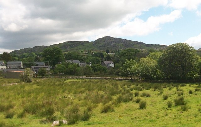 Rough pasture on the edge of Y Garn