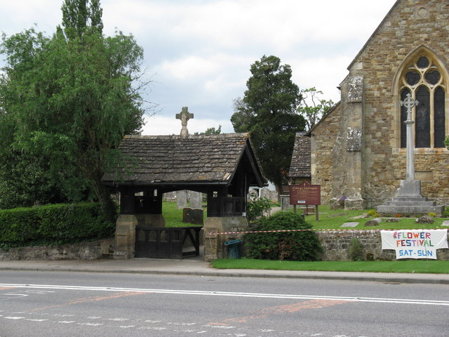 Lych gate at St Mary's church