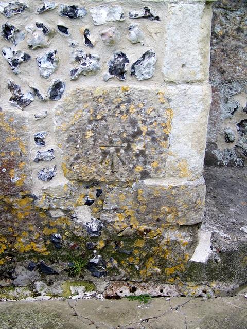 Bench Mark, All Saints Church