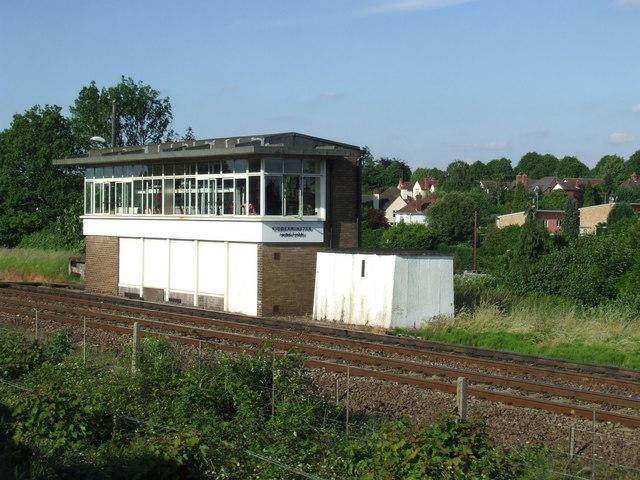 Kidderminster Junction signal box