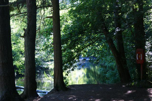 Afon Llugwy at Betws-y-coed