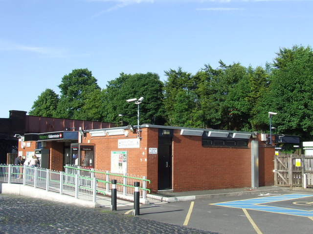 Kidderminster station building