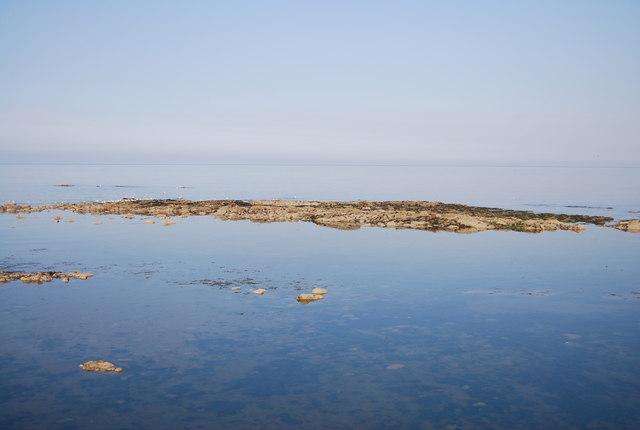 Rocks out at sea