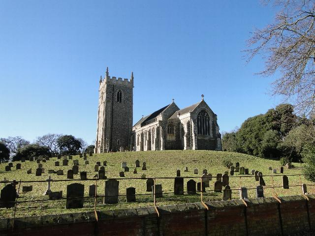 Holkham St Withburga's church