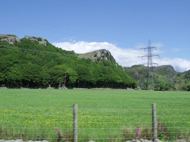 Pylons near Trem-y-garth, Gwynedd