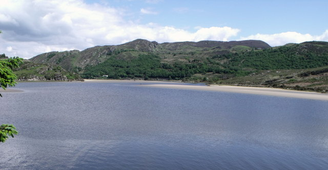 Afon Dwyryd estuary near Penrhyndeudraeth