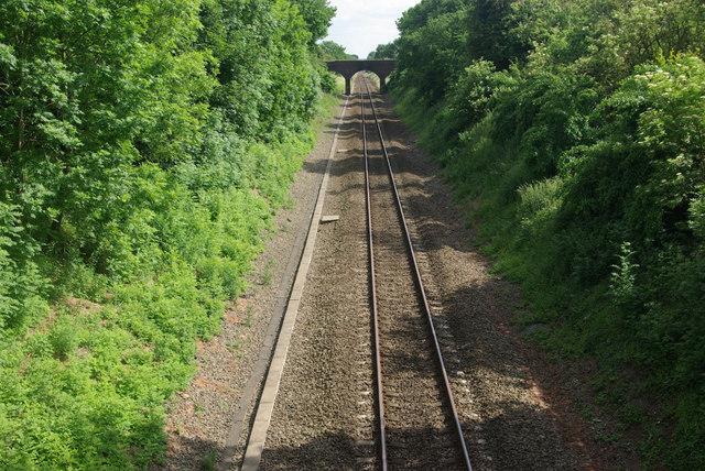 Railway at Old Milverton