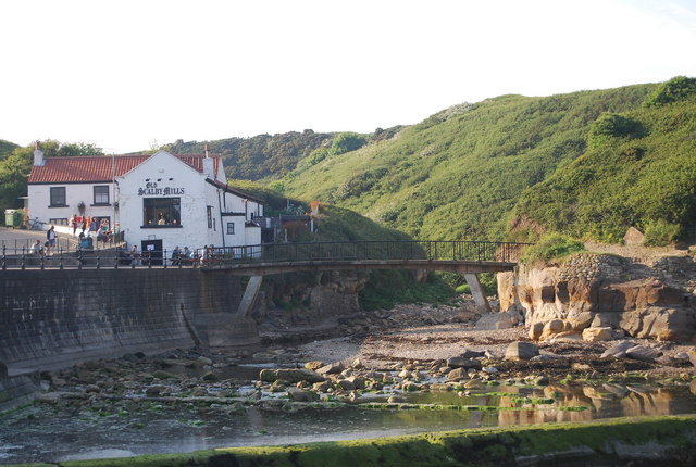 The Old Scalby Mills by Scalby Beck (Sea Cut)