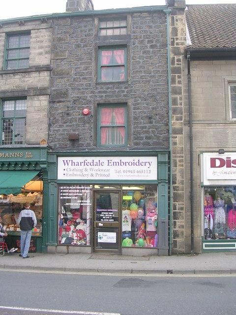 Wharfedale Embroidery - Boroughgate