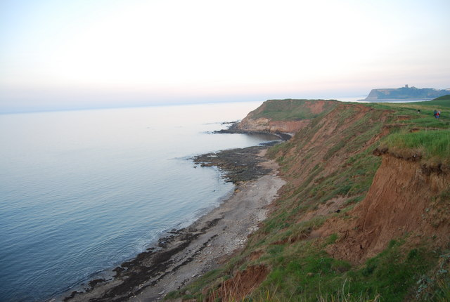 View south to Scalby Ness