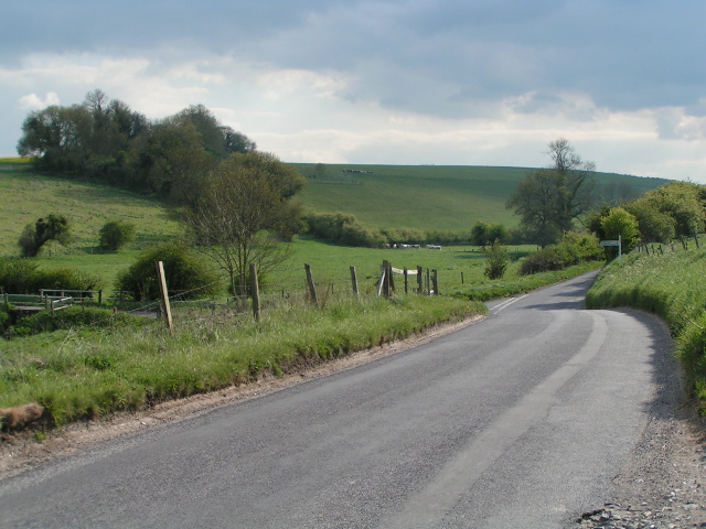 Lane to Ebbesbourne Wake