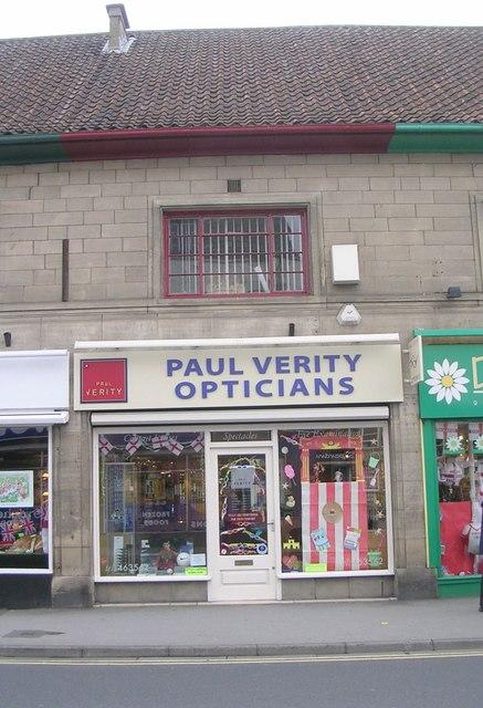 Paul Verity Opticians - Boroughgate