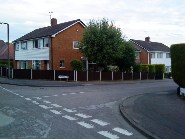 Junction of Dale Lane and Solway Close
