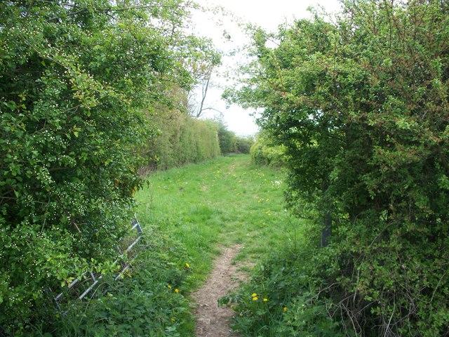 Footpath to Gawcombe [2]