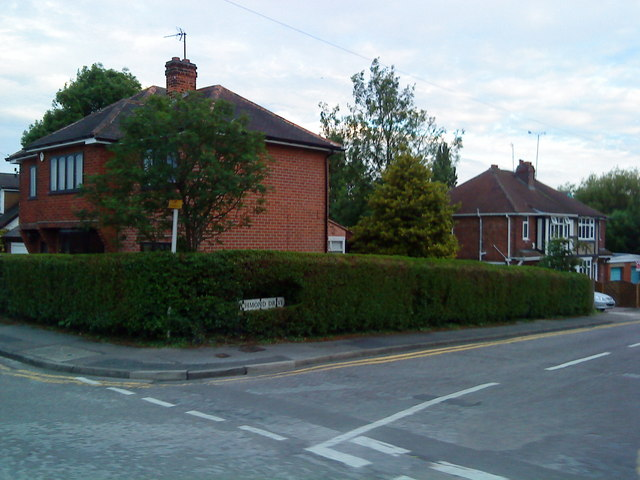 Junction of Dale Lane and Richmond Drive, Beeston